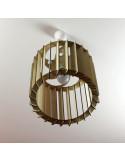 Lampenkap hout cilinder