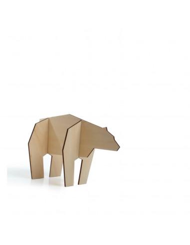 Mini ijsbeer hout