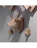 Mini elandkop hout