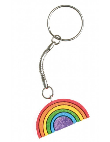 Regenboog sleutelhanger