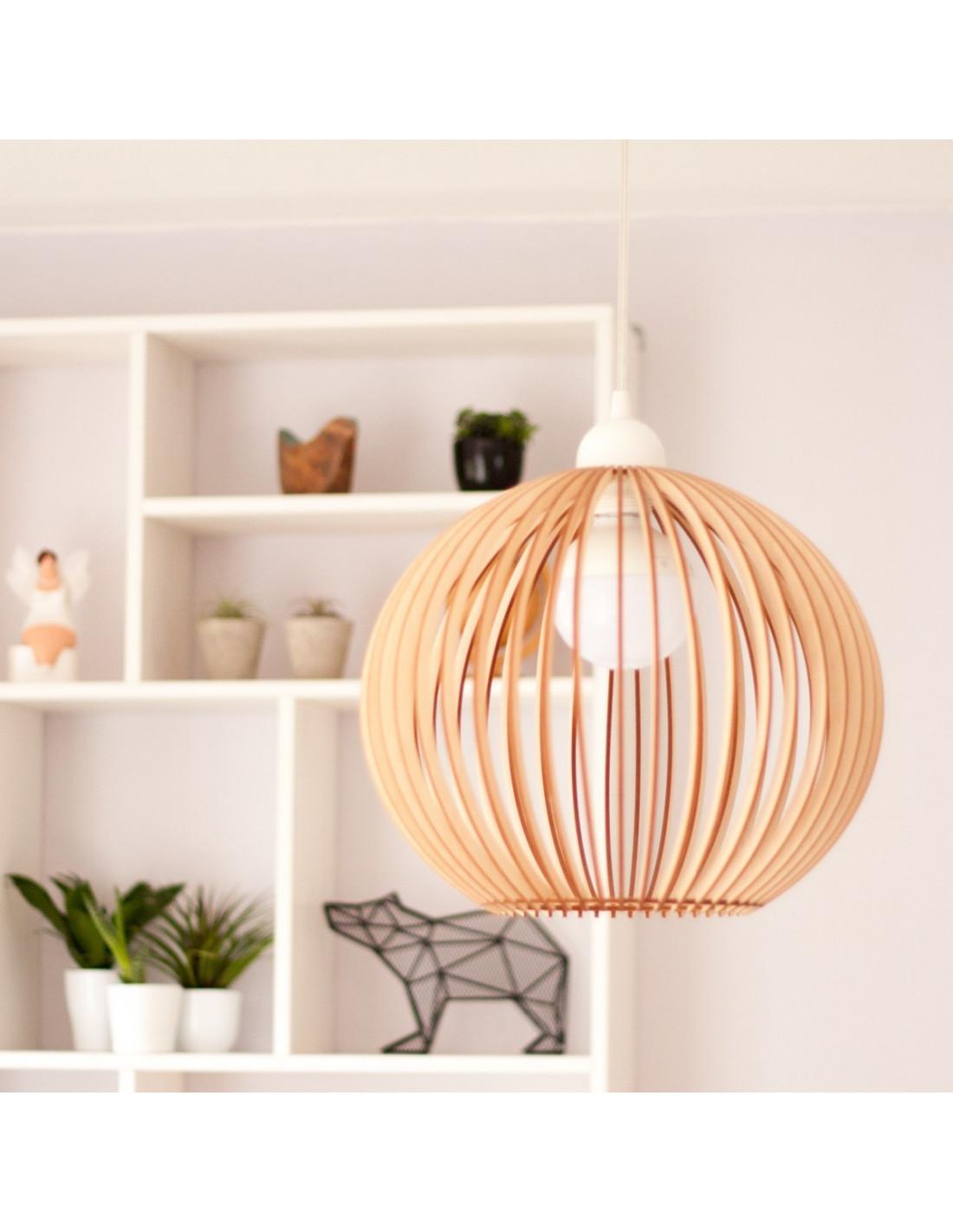 houten bolle lampenkap houten accessoires en meer