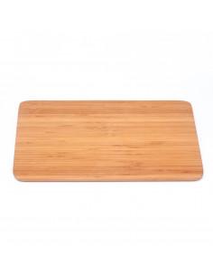 Bamboe snijplank rond groot