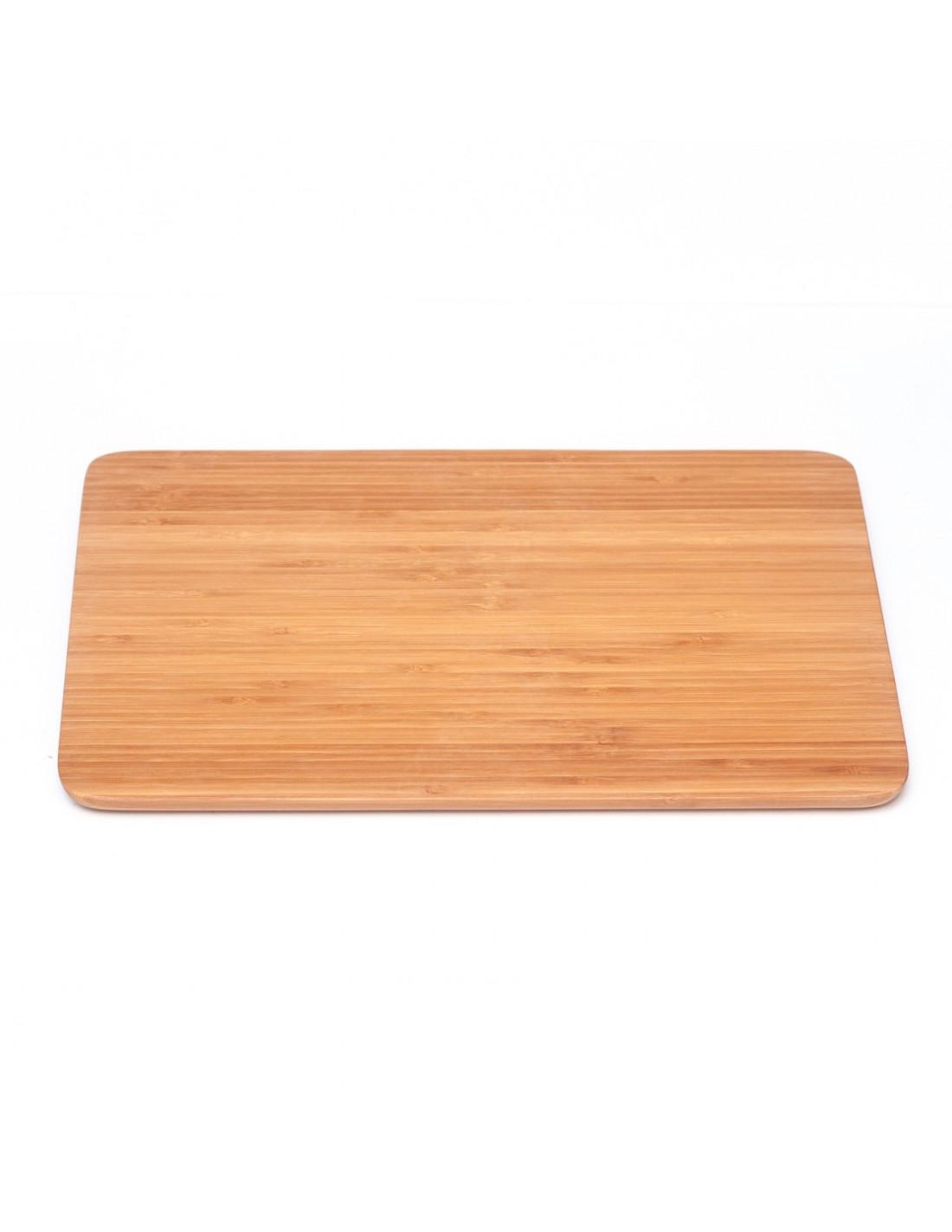 Grote bamboe snijplank met afgeronde hoeken houten accessoires en meer - Afgeronde bank ...