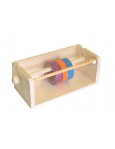 Houten houder masking tape