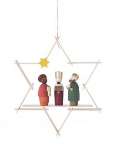 Drie koningen hanger ster