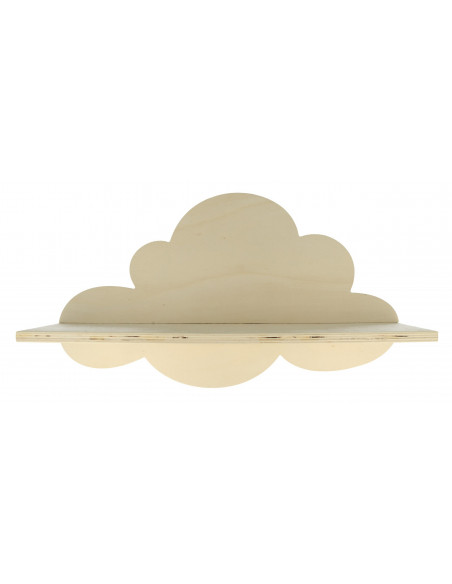 Wandplank wolk