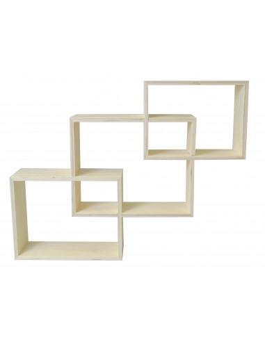 Wandkast geometrisch