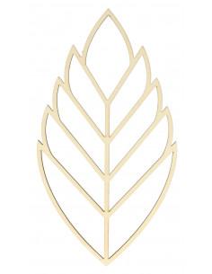 Botanisch silhouet blad
