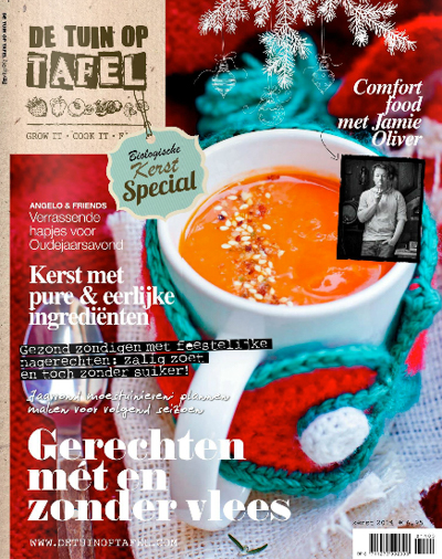 Tuin op tafel cover